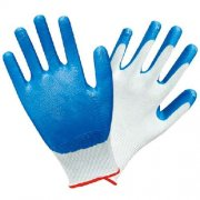 Nitrile Palm Dip, Mans nylon shell