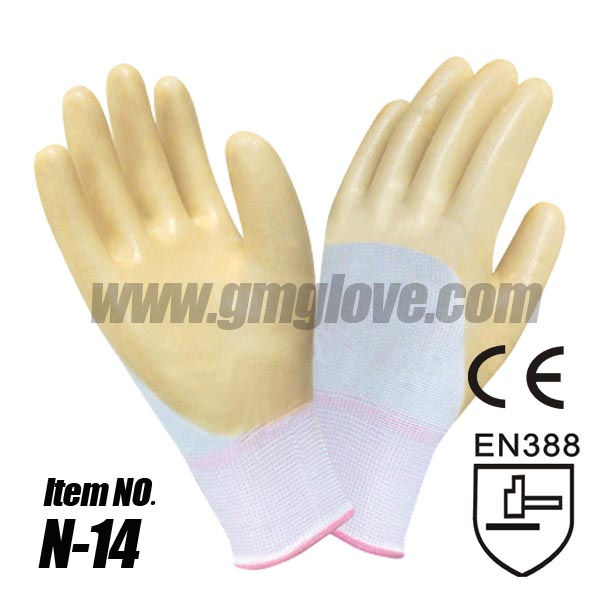 13G Nitrile Rubber Coated Gloves