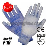 PU Garden Glove, Palm Coating, 13-G