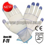 Anti Static Cleanroom Gloves,PU Coa