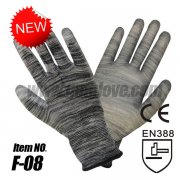 PU Safety Work Gloves, Builders Gri