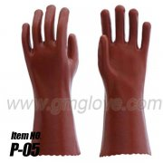 Working Hands PVC Coated Gloves, Fully Coating